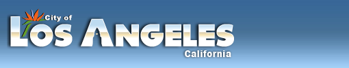 City of Los Angeles, California Official Logo